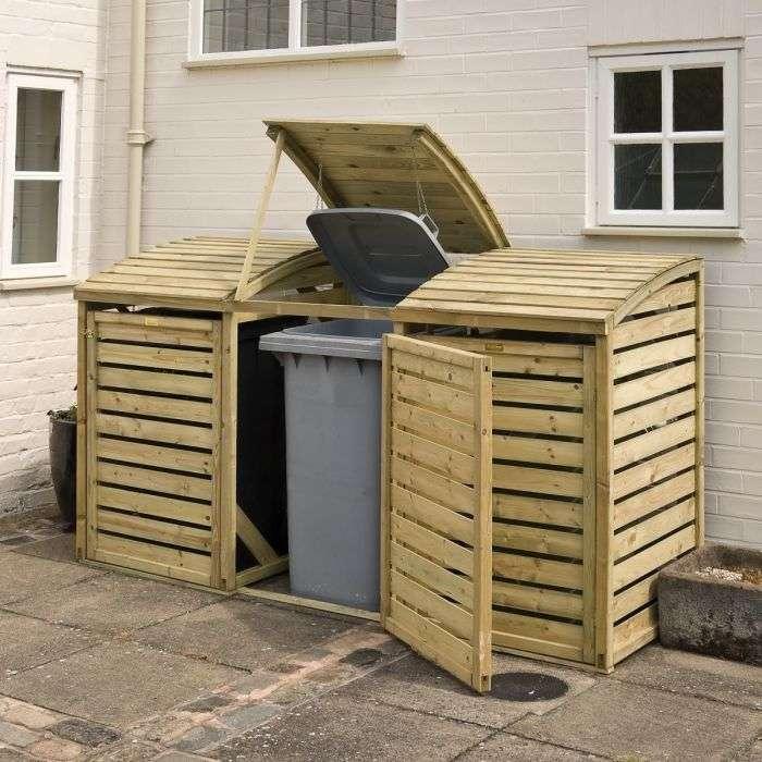 מחסן עץ לפחים 0.80*2.30