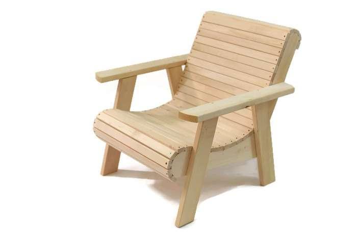 כסא זולה יחיד מעוגל