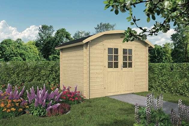 בקתת האגדות 2.4*3 Klair מחסן עץ או בקתת עץ לגינה
