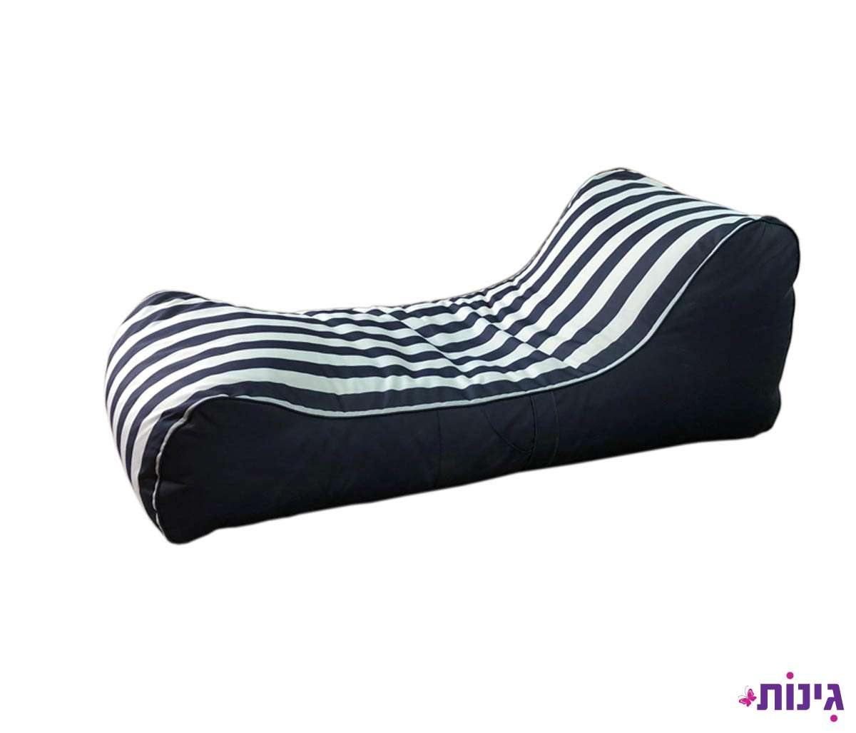 פוף מיטה RELAX כחול-לבן