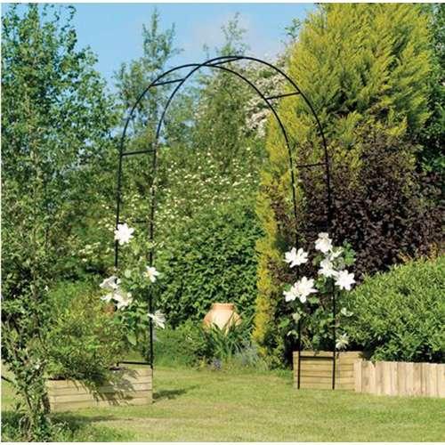 קשת צמחיה לגינה דגם ורד