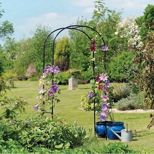 קשת צמחיה לגינה דגם שושן