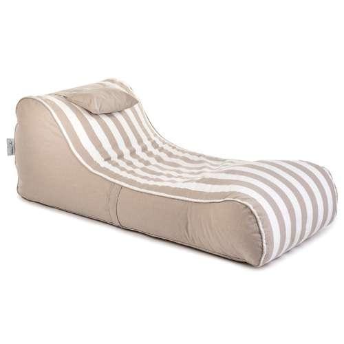 פוף מיטה RELAX בז'-שמנת