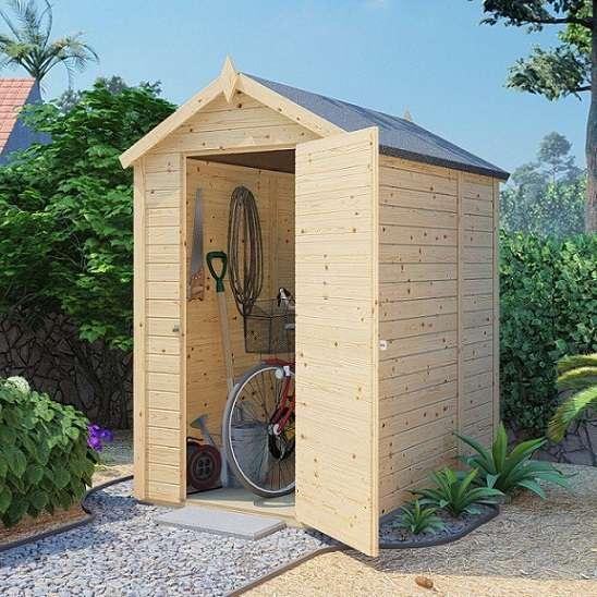 מחסן עץ לגינה 1.90*1.35 GX46B